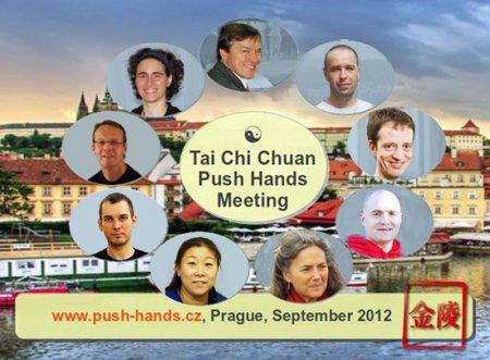 Первая международная встреча по Туй шоу и Тайцзи цюань в Праге